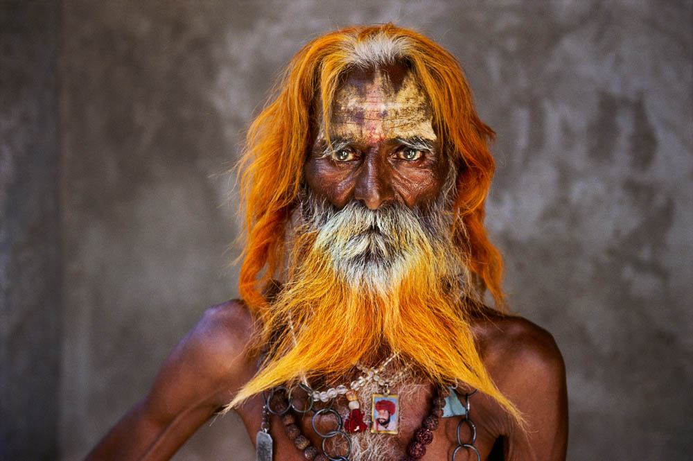 An elderly man from the Rabari Tribe poses for a portrait in Rajasthan, India, 2010 Steve McCurrys Source: theatlantic.com