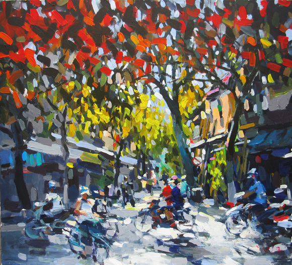 Autumn Sunlight, by Pham Hoang Minh. Photo Credit: Art Loft Asia