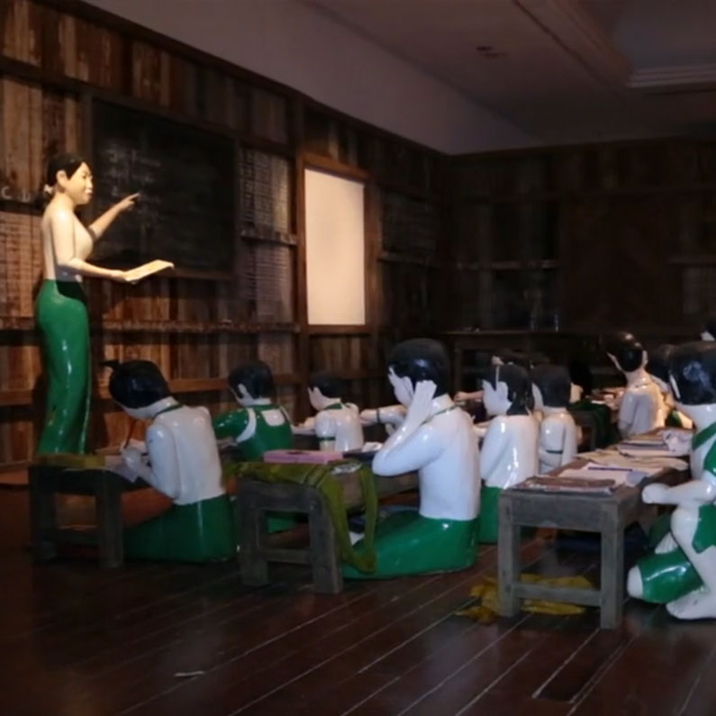 Reflections From a Lifesize  Classroom From Myanmar