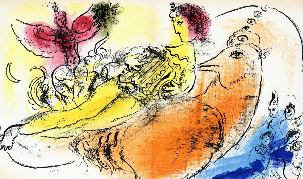 Marc Chagall L'Accordeoniste