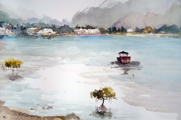 Tai O Fishing Village - Mangrove, by Margaret Loh. Photo Credit: Art Loft Asia